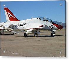 Navy T-45 Goshawk Acrylic Print by Steven Parker