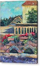 Nazareth Rooftops Acrylic Print