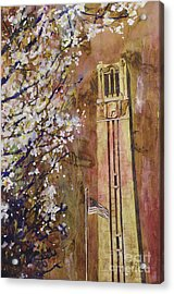 Ncsu Bell Tower Acrylic Print
