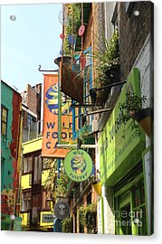 Neales Yard London Acrylic Print