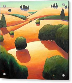 Near Day's End Acrylic Print
