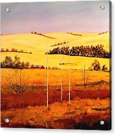Nebraska Plains Acrylic Print
