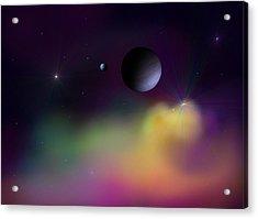 Nebula 2 Acrylic Print by Ricky Haug