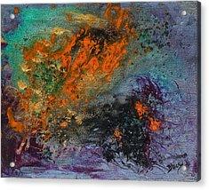 Nebula Cloud  Acrylic Print by Donna Blackhall