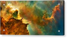Nebula Cloud Acrylic Print by Jennifer Rondinelli Reilly - Fine Art Photography