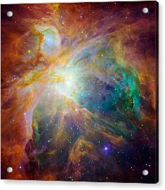 Chaos At The Heart Of Orion Acrylic Print by Nasa