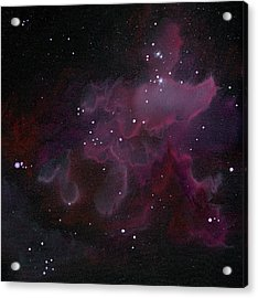 Nebula One Acrylic Print by Emily Magone