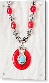 Necklace Acrylic Print by Tom Gowanlock