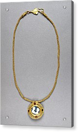 Necklace With Cameo Pendant Unknown Roman Empire 250 - 400 Acrylic Print