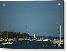 Ned's Point In Mattapoisett Acrylic Print by Amazing Jules