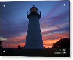 Ned's Point Lighthouse Acrylic Print by Amazing Jules