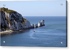 Needle's Isle Of Wight Acrylic Print