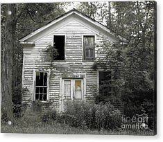 Needs A Little Work Acrylic Print by Michael Krek