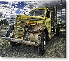 Needs New Headlights Acrylic Print by Gary Neiss