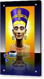 Nefertiti  The  Beautiful Acrylic Print