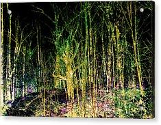 Negative Forest Acrylic Print