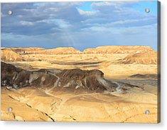 Negev Desert  Acrylic Print