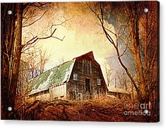 Neglected Acrylic Print by A New Focus Photography