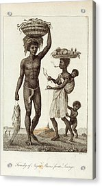 Negro Slaves Acrylic Print by British Library