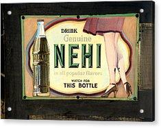 Nehi Acrylic Print
