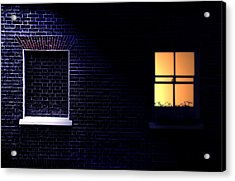 Neighbours Acrylic Print by Richard Piper