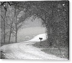Neither Rain Nor Snow.. Acrylic Print