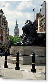 Nelson's Lion Acrylic Print