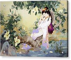 Nemuri No Otome Acrylic Print by Haruyo Morita