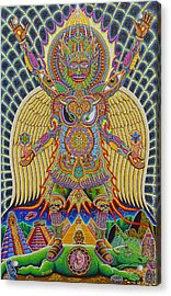 Neo Human Evolution Acrylic Print by Chris Dyer