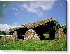 Neolithic Tomb: Arthur's Stone Acrylic Print by Tony Craddock/science Photo Library