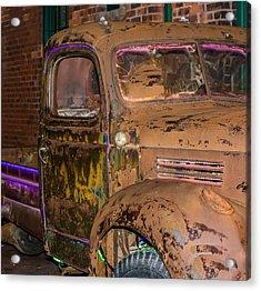 Neon And Rust Acrylic Print