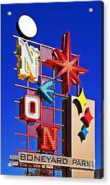 Vegas Neon Boneyard Acrylic Print
