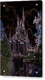 Neon Castle Acrylic Print