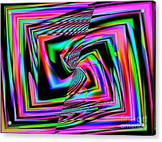 Neon Colors  Acrylic Print