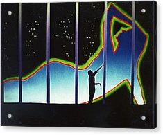 Neon Life Acrylic Print by Dan Townsend