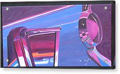 Neon Reflections IIi Acrylic Print