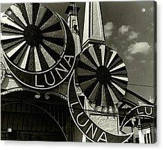 Neon Signs Of Luna Park Acrylic Print