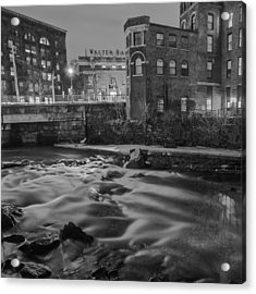 Neponset At Night Acrylic Print