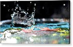 Neptune's Crown Acrylic Print by Lisa Knechtel