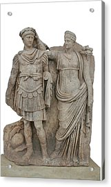 Nero And His Mother Agrippina Acrylic Print by Tracey Harrington-Simpson