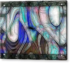 Nerve Center Acrylic Print by RC DeWinter