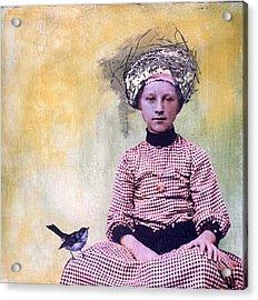 Nesting I Acrylic Print by Susan McCarrell