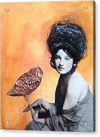 Nesting II Acrylic Print by Susan McCarrell