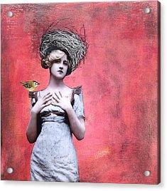 Nesting IIi Acrylic Print by Susan McCarrell