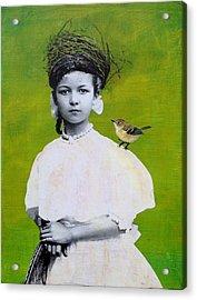 Nesting Series Viii Acrylic Print by Susan McCarrell