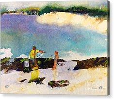 Net Fishing Acrylic Print