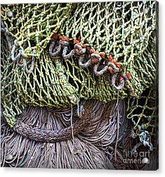 Nets And Knots Number Three Acrylic Print