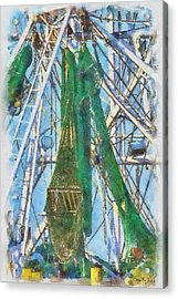 Nets And Rigging Ready Acrylic Print