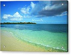 Nettle Bay Beach St. Maarten Acrylic Print
