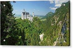 Neuschwanstein Castle 2 Acrylic Print by Rudi Prott